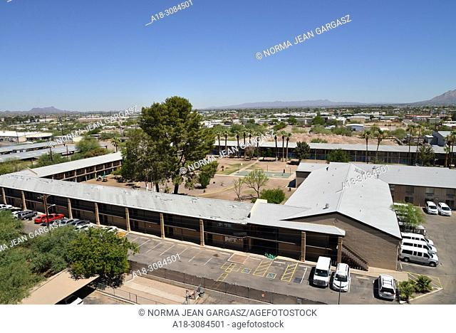 Tucson, Arizona, USA. 20th June, 2018. Undocumented immigrant minors, who crossed the border illegally from Mexico into the United States