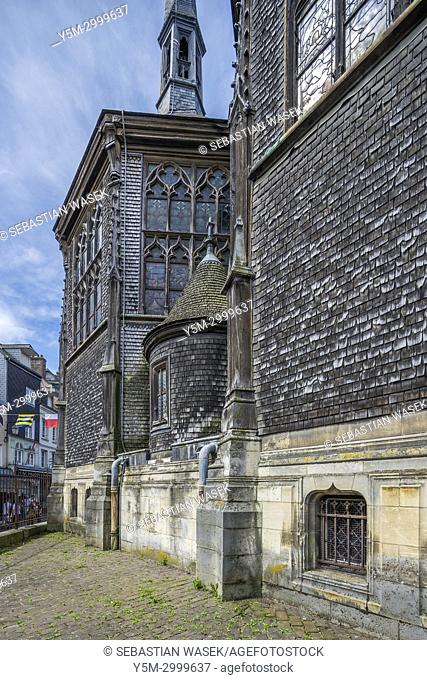 The Church of Saint Catherine, Honfleur, Calvados, Normandy, France, Europe