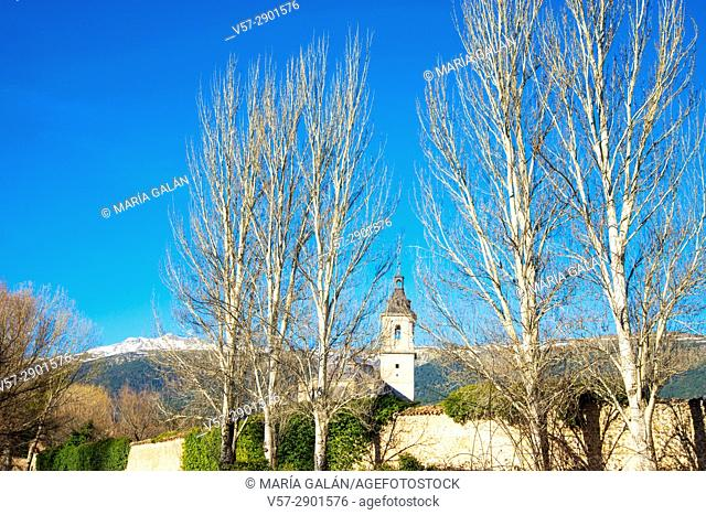 El Paular monastery. Rascafria, Madrid province, Spain