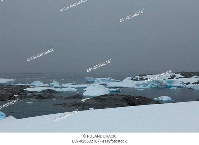 Die Antarktis Paradies Bay