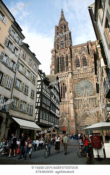 Sep 2008 - Notre Dame Cathedral, Strasbourg, Alsace, France