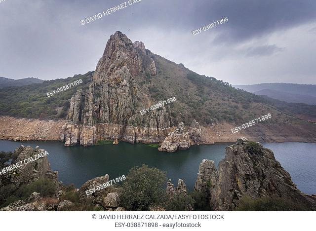 Monfrague national park in Caceres, Extremadura, Spain