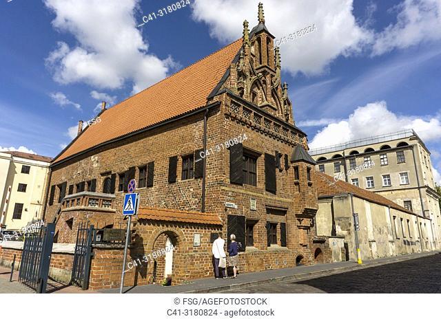 House of Perkünas. 15th century. Kaunas. Lithuania