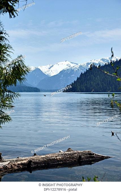 Cheakamus Lake, near Whistler; British Columbia, Canada
