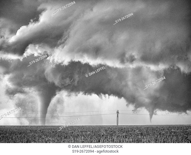 Tornado Near Dodge City Kansas