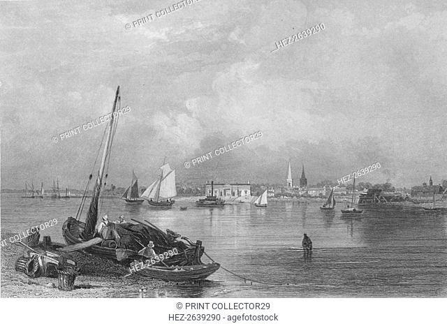 'Southampton', 1859. Artist: Edward Francis Finden