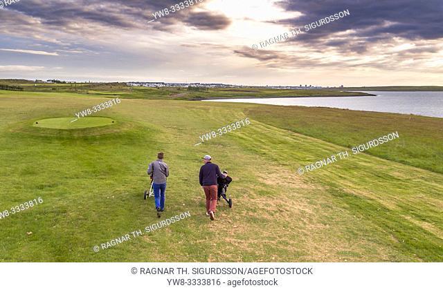 Mosfellsbaer Golf Course, Mosfellsbaer, Iceland