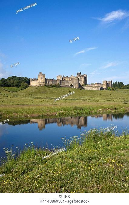England, Northumberland, Alnwick Castle