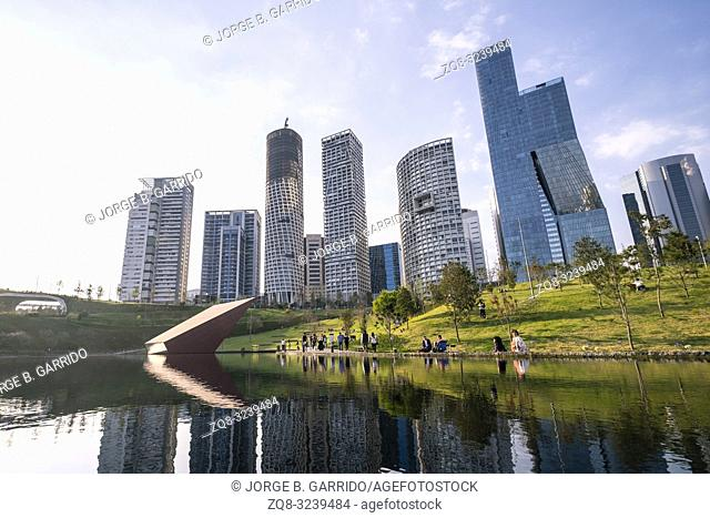 Mexico City Skyline Latin America Stock Photos And Images Agefotostock