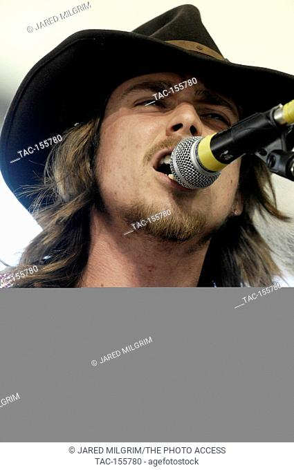 Lukas Autry Nelson performs at the Stagecoach, California's County Music Festival Day 1 on April 30, 2011 in Indio, Ca
