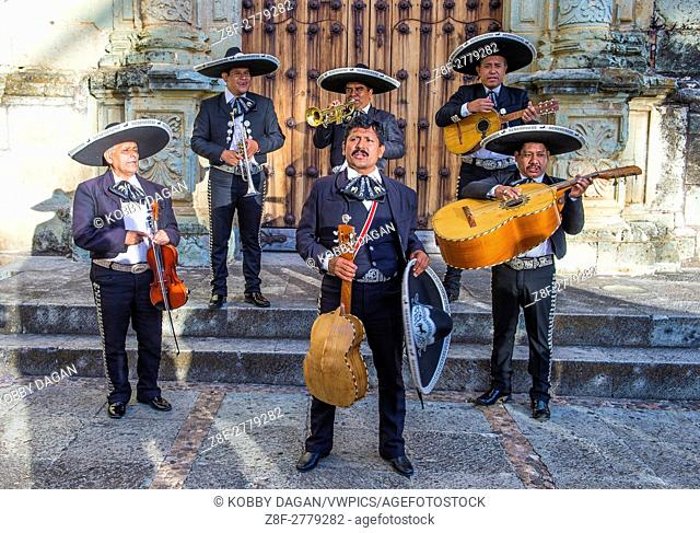 Mariachis perform during Day of the Dead in Oaxaca, Mexico