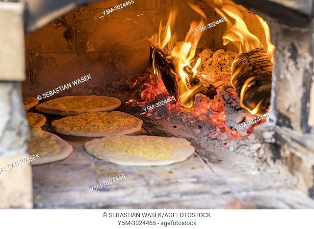 Preparing old bread Posmodulja at Bled Days with Tastes Bled, Upper Carniola, Slovenia, Europe