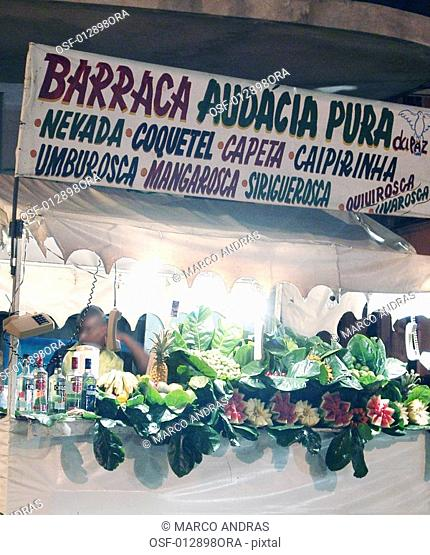 a public stand market at bahia