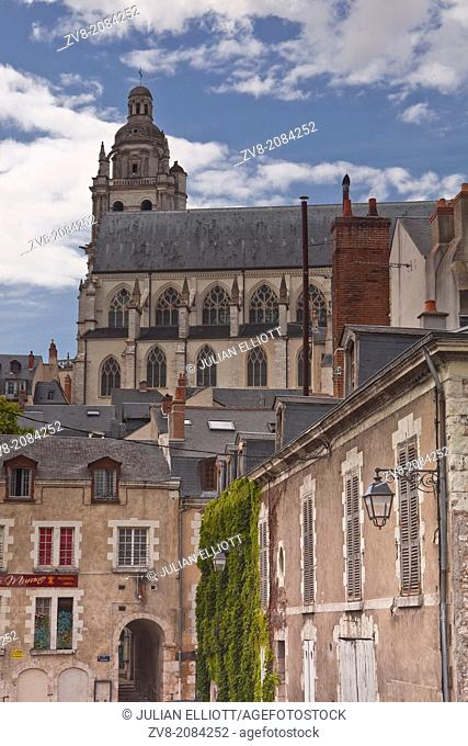 Cathedral of Saint Louis de Blois, Loir-et-Cher, Centre, France