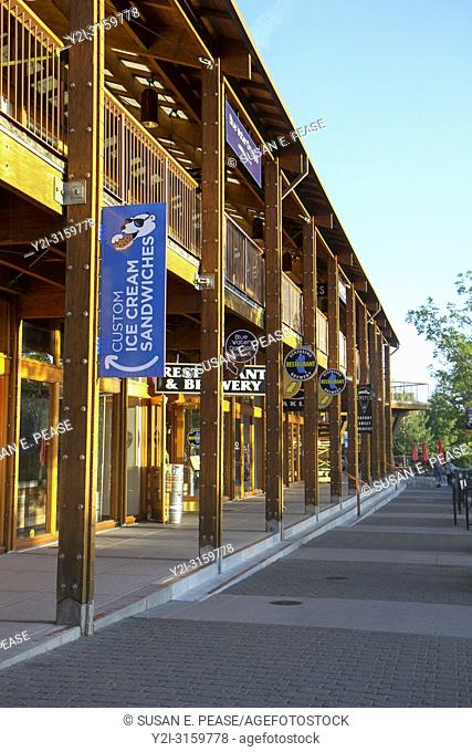 Shops at Heavenly Village, South Lake Tahoe, California, United States