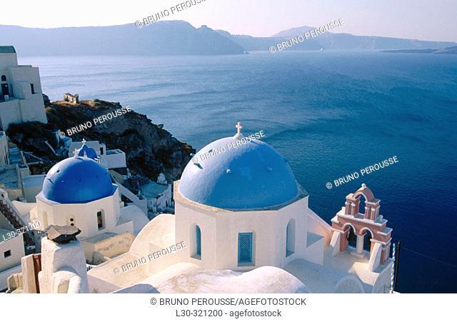 Oía, Santorini. Cyclades. Greece