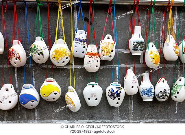 Zhenyuan, Guizhou, China. Ceramic Whistles