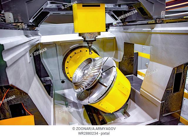 Metalworking CNC milling machine