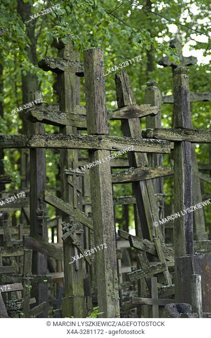 Crosses on the Holy Mountain of Grabarka
