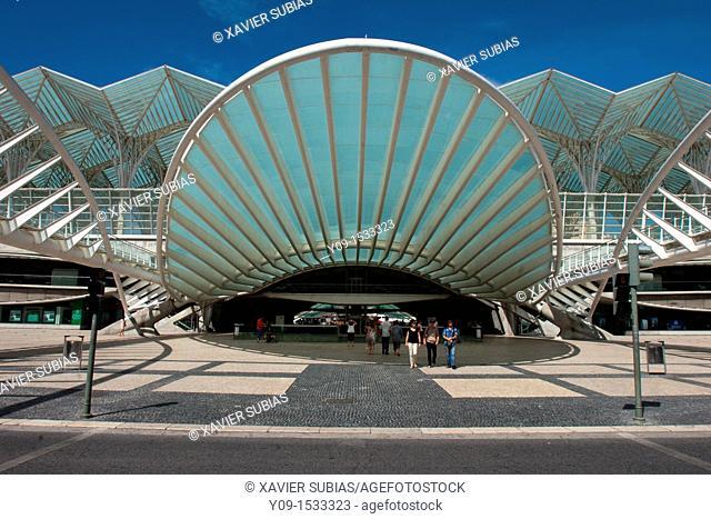 Orient Station, Parque das Naçoes, Lisbon, Portugal