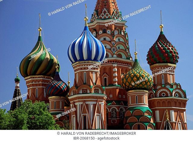 Saint Basil's Cathedral, Red Square, Moscow, Russia, Europe