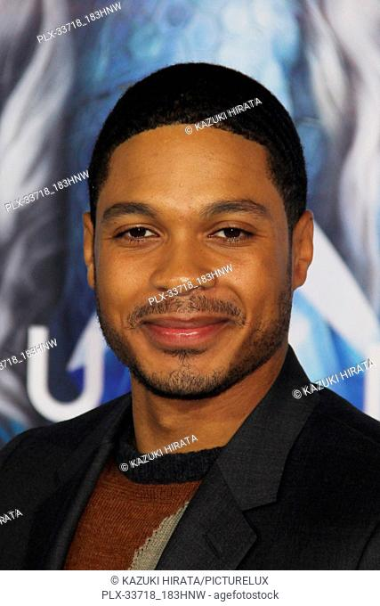 """Ray Fisher 12/12/2018 """"""""Aquaman"""""""" Premiere held at the TCL Chinese Theatre in Hollywood, CA Photo by Kazuki Hirata / HNW / PictureLux"""