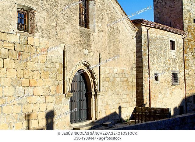 Santiago Church 13th century, in Trujillo  Cáceres province  Extremadura  Spain