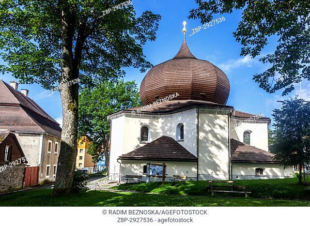 Zelezna Ruda, Czech Republic, Sumava, Church
