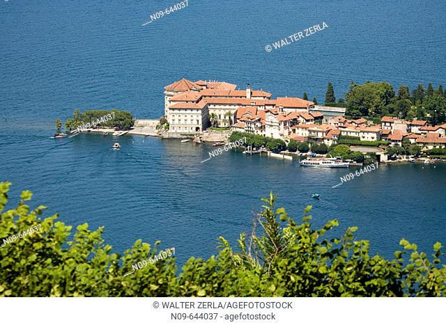 Isola Bella, Lago Maggiore. Piedmont, Italy