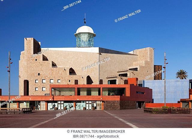 Alfredo Kraus Auditorium, Playa de las Canteras, Las Palmas, Gran Canaria, Canary Islands, Spain