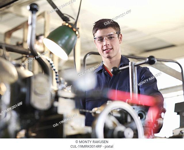 Portrait Of An Apprentice
