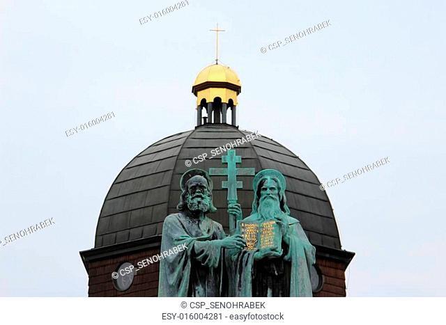 Statue of Saint Cyril and Methodius