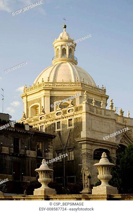 La chiesa della Badia di Sant' Agata, Catania