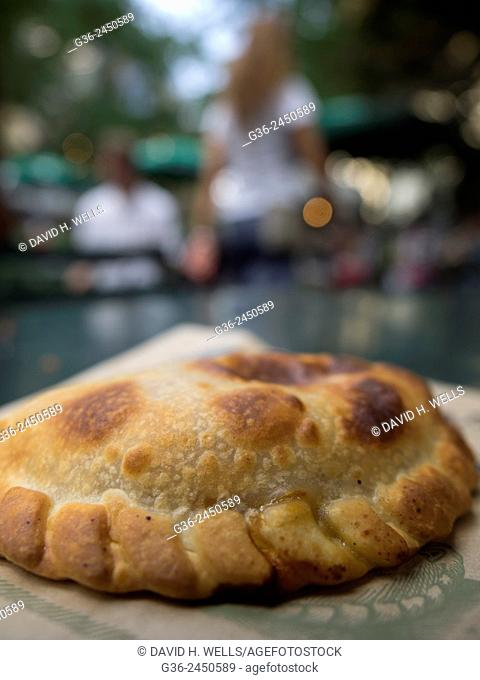 Freshly baked Empanada food in New York, New York