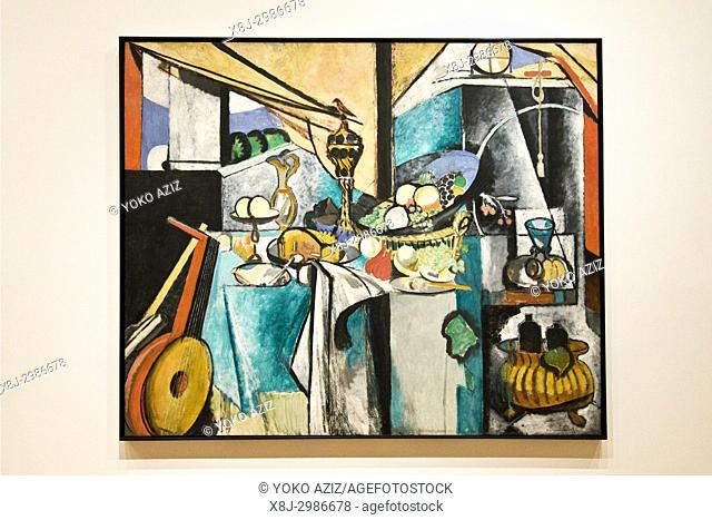 Still life after jan davidsz by Henri Matisse, 1915, MOMA Museum of Modern Art, Manhattan (New York, United States of America)