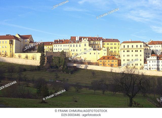 Czech Republic, Prague - Houses at Lesser Quarter