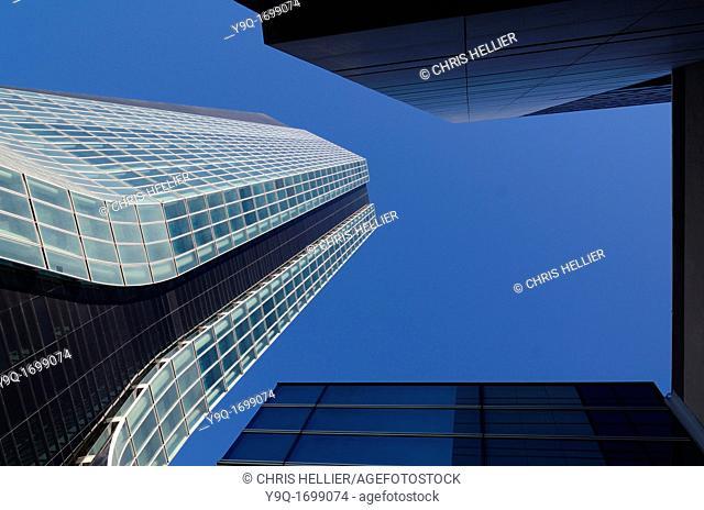 CMA CGM Headquarters and Office Tower by Zaha Hadid Euroméditerranée Marseille or Marseilles France