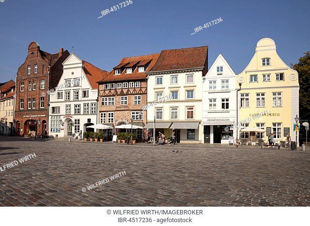 Am Sande, historic centre, Lüneburg, Lower Saxony, Germany