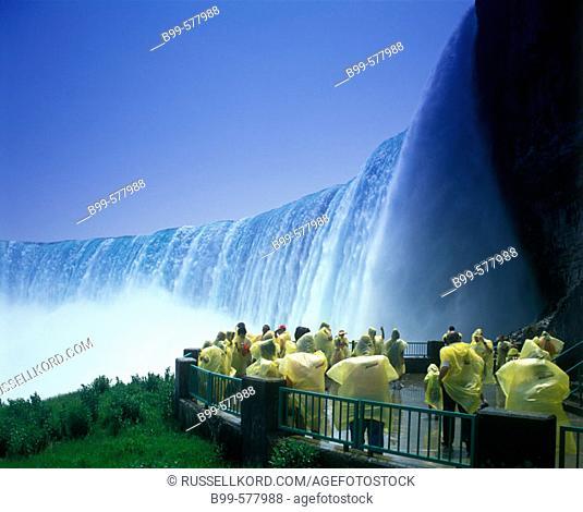 Table Rock, Horseshoe Waterfalls, Niagara, Ontario, Canada