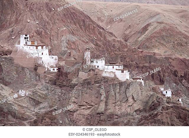 Basgo Monastery is a Buddhist monastery in Basgo, Ladakh, India