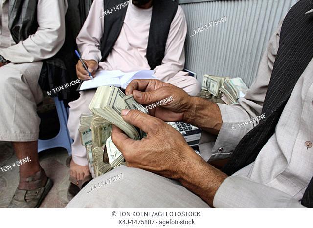 Hawala office money transfer in Kabul