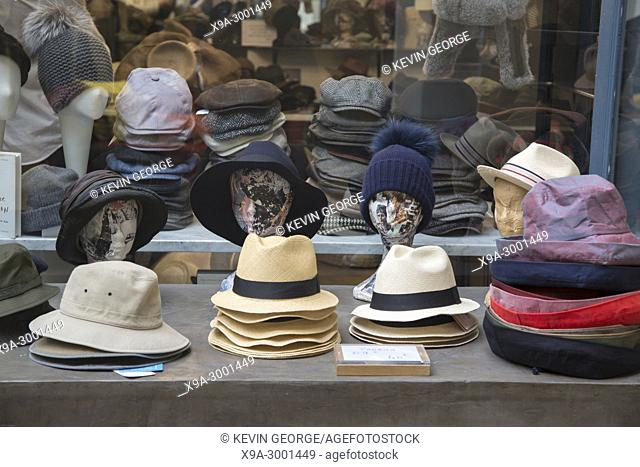Flechet Hat Shop; Passage Sarget Shopping, Gallery, Bordeaux; France