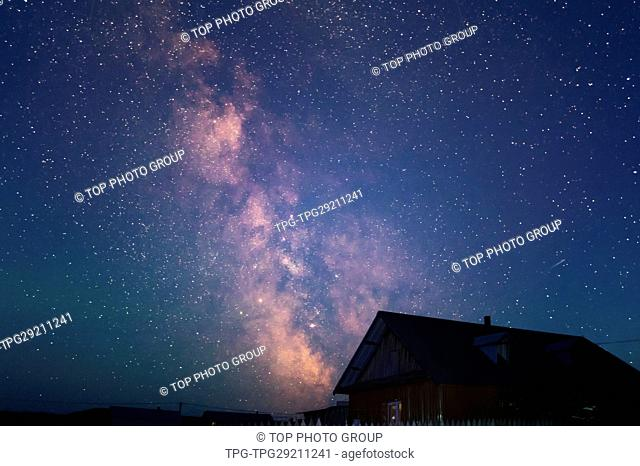 Milky Galaxy and the House