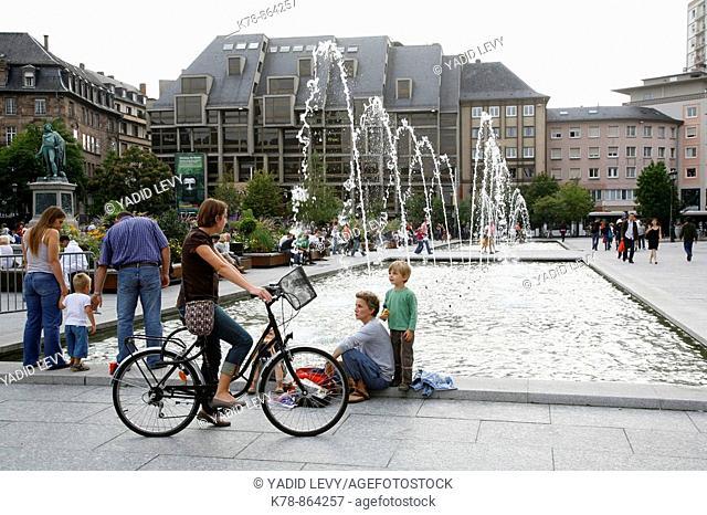 Sep 2008 - Place Kleber, Strasbourg, Alsace, France