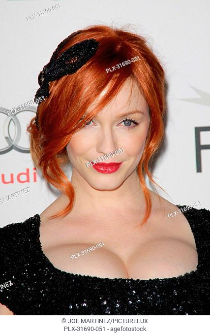 Christina Hendricks at the AFI Fest 2012 Special Screening of Ginger and Rosa. Arrivals held at Grauman's Chinese Theatre in Hollywood, CA, November 7, 2012