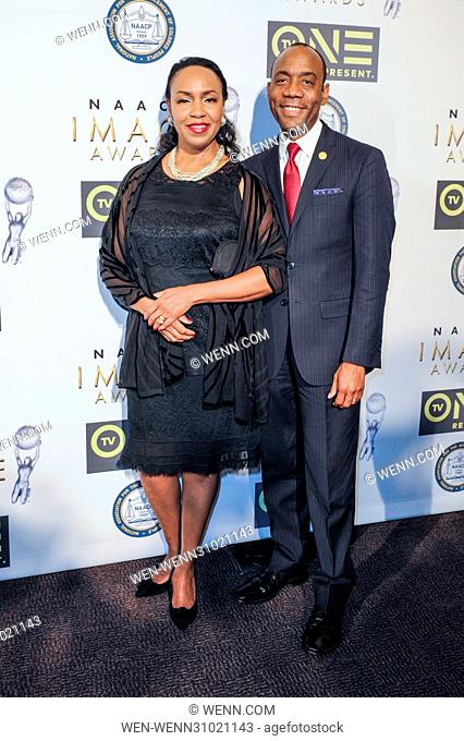 48th Annual Non Televised NAACP Image Awards - Arrivals Featuring: Cornell W. Brooks, Janice Brooks Where: Pasadena, California