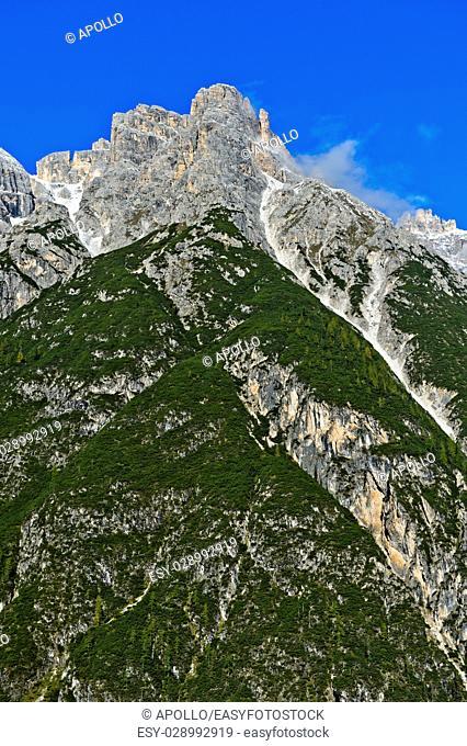 Punta dei Tre Scarperi, Sesto, Sesto Dolomites, South Tirol, Trentino-Alto Adige, Italy