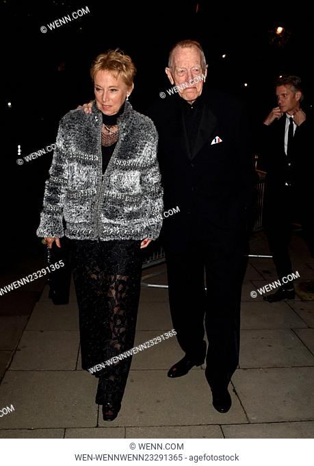 Star Wars Cast seen arriving at Tate Britain in London for the afterparty following the London Premiere off the new movie