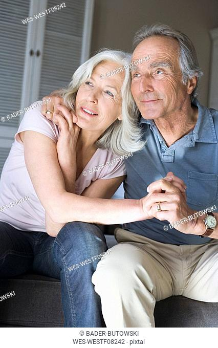Senior couple, portrait