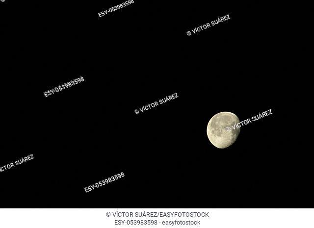 Moon. El Hierro. Canary Islands. Spain